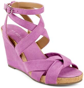 Aerosoles Phoenix Ankle Strap Wedge Sandal