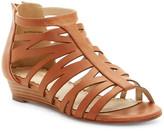 Restricted Desert Rose Wedge Sandal