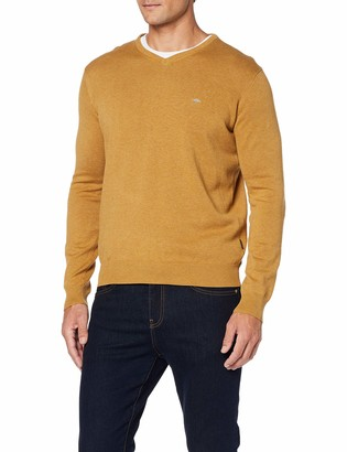 Fynch-Hatton Fynch Hatton Men's Pullover V-Neck Jumper