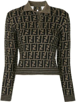 Fendi Pre-Owned Zucca pattern jumper