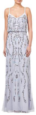 Adrianna Papell Serenity Beaded Dress, Multi