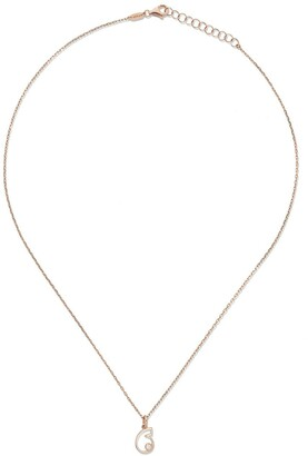 As 29 14kt rose gold diamond Six necklace