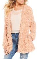 GB Shaggy Faux Fur Jacket