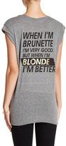 Pam & Gela Frankie Better Blonde Tee