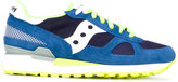 Saucony panel lace-up sneakers - men - Suede/Nylon/rubber - 40