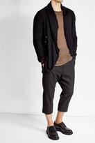 Alexander McQueen Cashmere Cardigan with Asymmetric Hemline