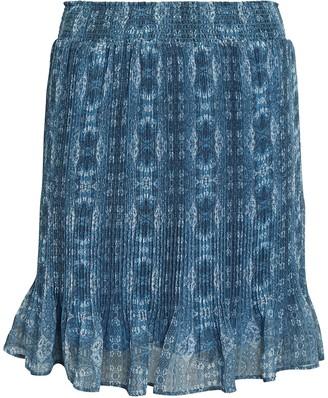 Intermix Arlo Pleated Mini Skirt