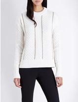 MICHAEL Michael Kors Chain-detail wool jumper