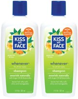 Kiss My Face Whenever Shampoo for Gentle Cleansing with Argan Oil, 11 oz