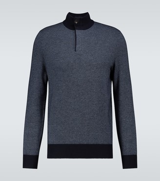 Ermenegildo Zegna Half zipped sweater