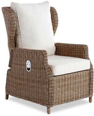 Wisteria Designs Aegean Outdoor Reclining Chair Natural