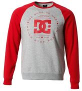 DC Mens Rebuilt Sweater Jumper Pullover Long Sleeve Crew Neck Casual