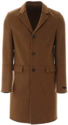 Prada Single-Breasted Coat