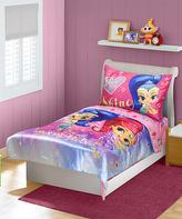 Baby Boom Pink Shimmer & Shine Four-Piece Bedding Set