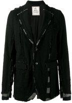 Miharayasuhiro distressed blazer