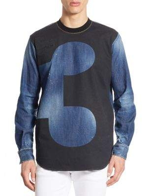 DSQUARED2 X Dwyane Wade Denim Shirt