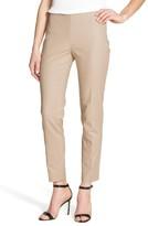 Vince Camuto Women's Side Zip Double Weave Stretch Cotton Pants