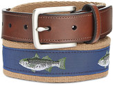 Club Room Men's Bass Fish Belt, Only at Macy's