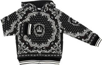 Dolce & Gabbana Bandana Fantasy Hoodie