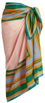 Diane von Furstenberg Borel cotton-blend scarf