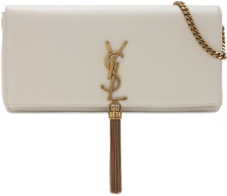 Saint Laurent Kate 99 Baguette Leather Bag W/ Tassel
