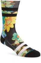 Stance Men's Corsage Classic Crew Socks