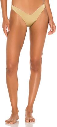 Indah Arrow Skimpy Solid Seamless Bikini Bottom