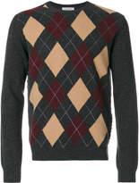 Valentino diamond patterned jumper