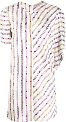 Emilio Pucci Bordi Mix short dress