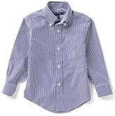 Brooks Brothers 4-20 Bangle Striped Woven Shirt