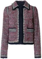 Tory Burch collared tweed jacket