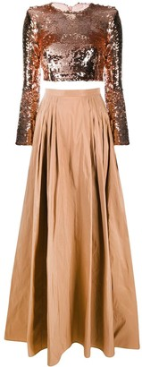 Elisabetta Franchi High-Waisted Full Skirt