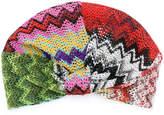 Missoni multi-print embroidered hat