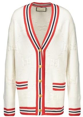 Gucci GG wool blend cardigan