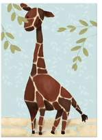 Oopsy Daisy Fine Art For Kids Gillespie the Giraffe Canvas Wall Art