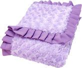 Trend Lab TREND LAB, LLC Lilac Rosette Blanket
