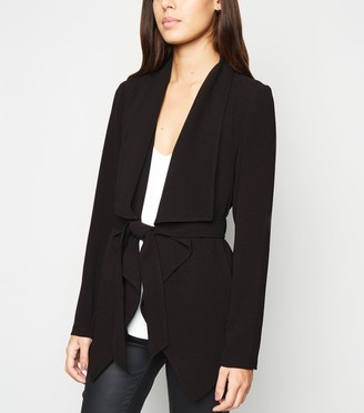 New Look Waterfall Belted Waist Blazer