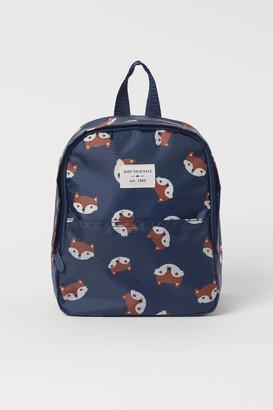 H&M Patterned Backpack - Blue