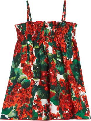 Dolce & Gabbana Floral Print Sundress