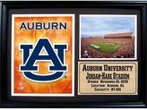 Auburn Tigers Photo Stat Frame