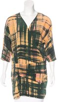 Thakoon Printed Silk Tunic