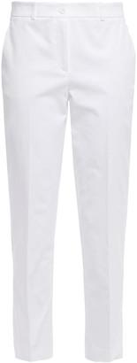 Michael Kors Collection Cotton-blend Twill Slim-leg Pants