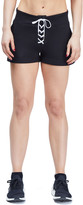 Urban Savage Lace-Up Active Shorts