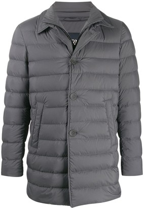 Herno double-collar padded jacket