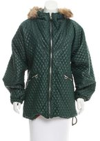 Post Card Casual Quilted Jacket