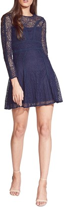 Bardot Tiana Lace Long Sleeve Minidress