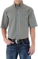 Wrangler 20X Shirt - Button Front, Short Sleeve (For Men)