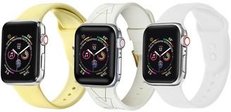 Posh Tech Multi Apple Watch Replacement Band - Set of 3