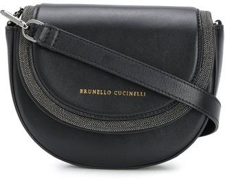 Brunello Cucinelli Leather Embellished Belt Bag