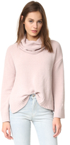 BB Dakota Marcilly Cowl Neck Cropped Sweater